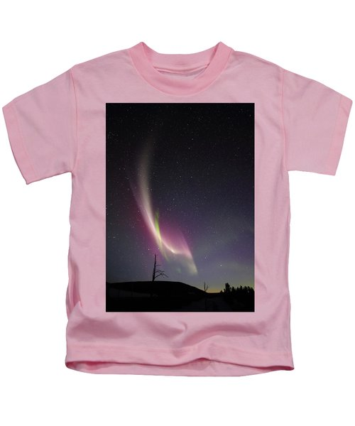 auroral Phenomonen known as Steve, 5 Kids T-Shirt