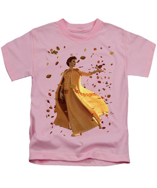 Autumn Kids T-Shirt by Methune Hively