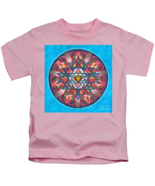 Awareness Mandala Kids T-Shirt