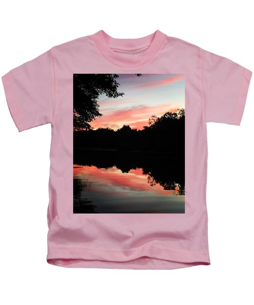 Awesome Sunset Kids T-Shirt