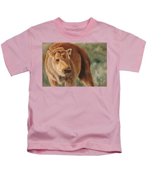 Baby Bison Kids T-Shirt
