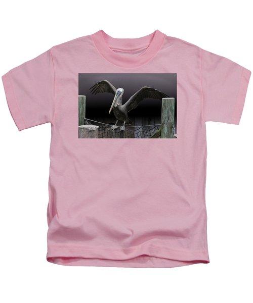 Balancing Act - Pelican Kids T-Shirt