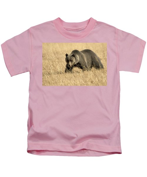 Bear On The Prowl Kids T-Shirt