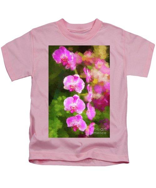 Beautiful Orchids Kids T-Shirt