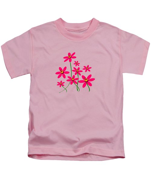 Bee Flowers Kids T-Shirt