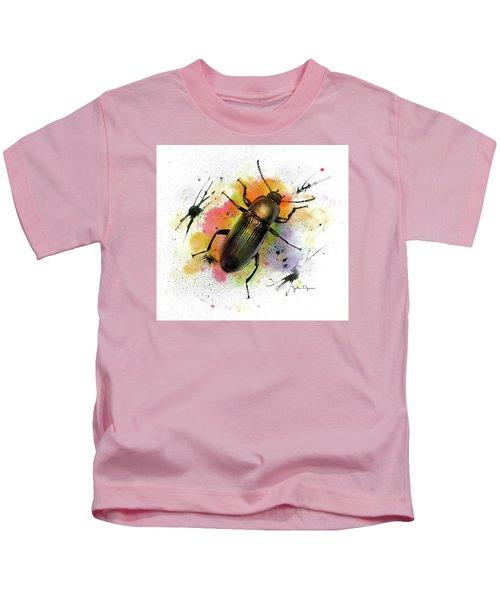 Beetle Illustration Kids T-Shirt