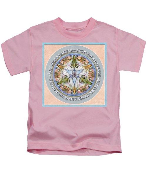 Beloved Mandala Prayer Kids T-Shirt