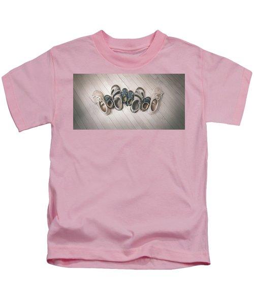 Big Shoes To Fill Kids T-Shirt
