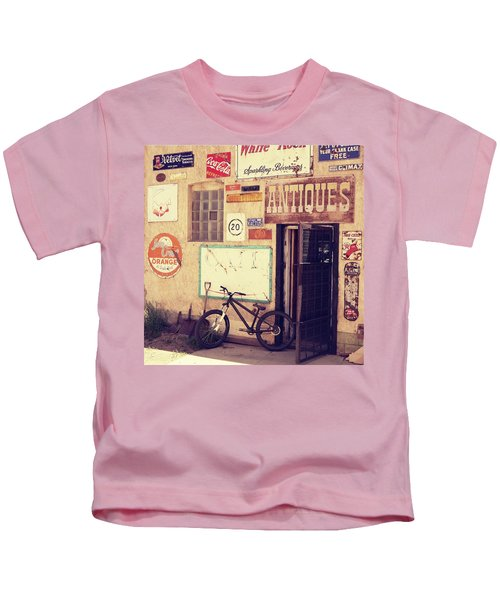 Bike Store Salida Colorado Kids T-Shirt
