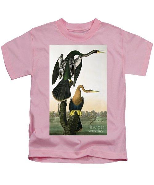 Black Billed Darter Kids T-Shirt