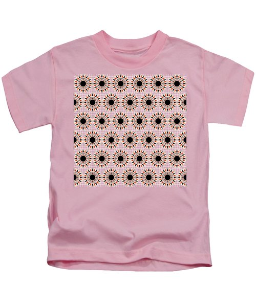 Black Stars Pattern Kids T-Shirt