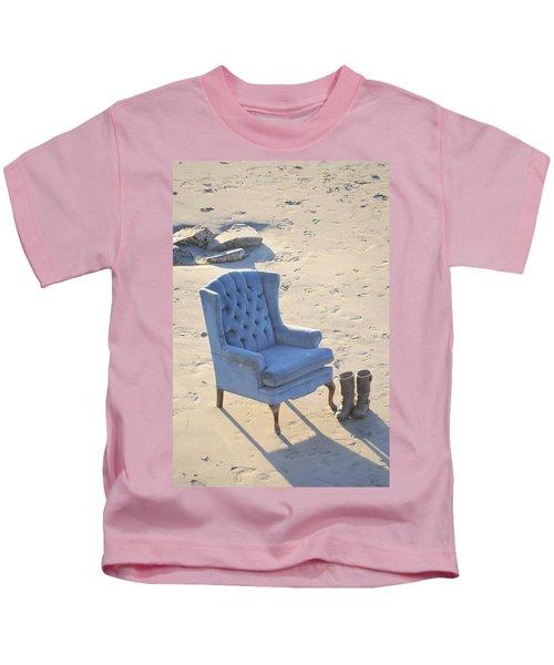 Blue Chair Kids T-Shirt