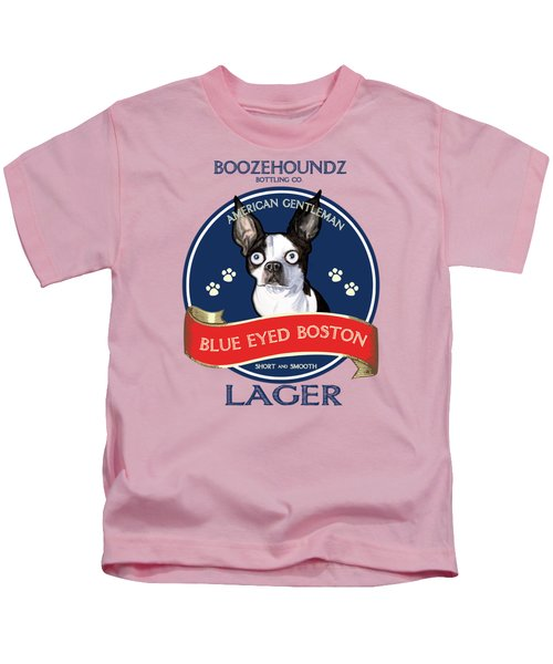 Blue Eyed Boston Lager Kids T-Shirt