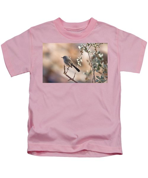Black-tailed Gnatcatcher Kids T-Shirt