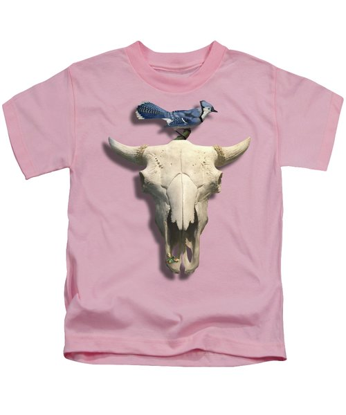 Bluejay And The Buffalo Skull Kids T-Shirt