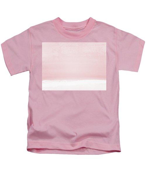 Blush Sunset- Art By Linda Woods Kids T-Shirt