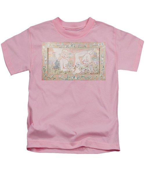 Bohemian Grove Bar Kids T-Shirt