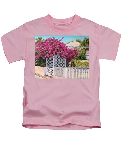Bougainvillea Crown Kids T-Shirt