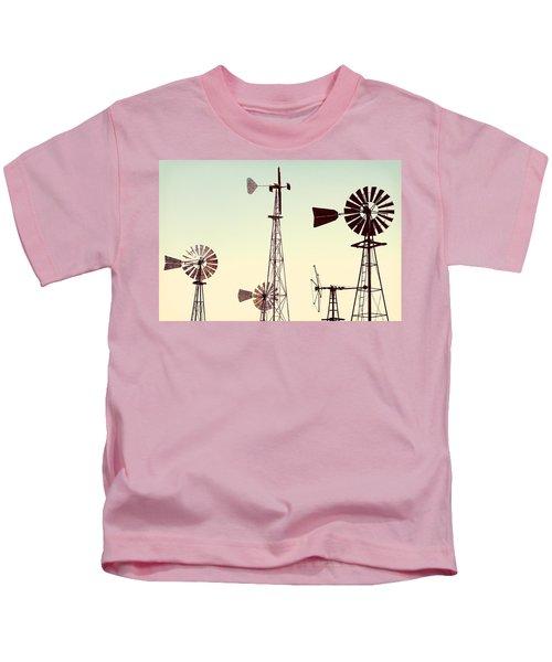Bountiful Windmills Kids T-Shirt