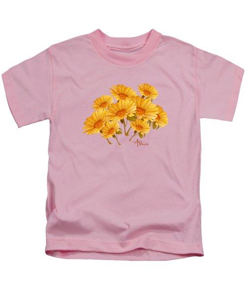 Bouquet Of Daisies Kids T-Shirt