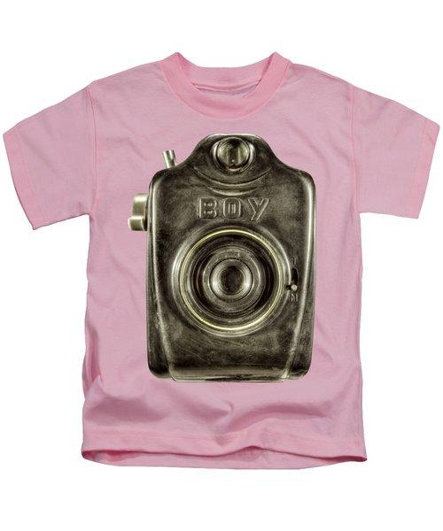 Boy Camera Front Kids T-Shirt