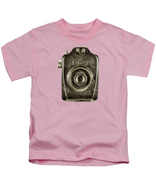 Boy Camera Front Kids T-Shirt