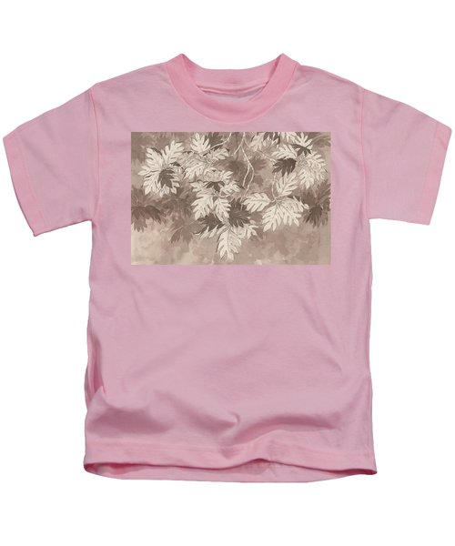 Breadfruit Tree Kids T-Shirt