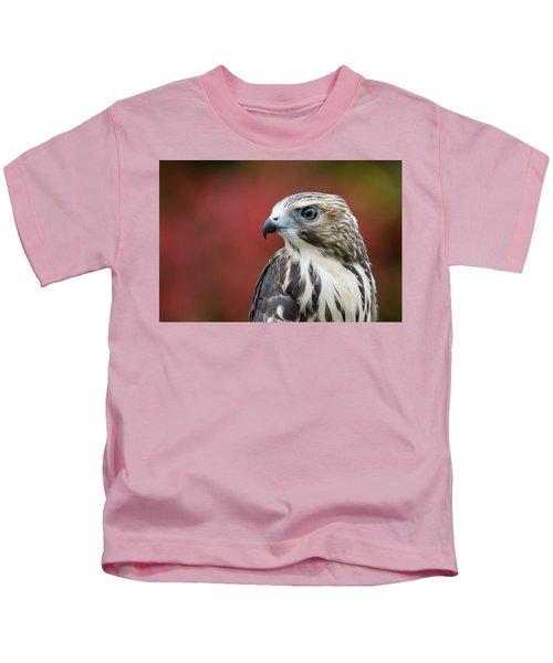 Broad Wing Hawk Kids T-Shirt