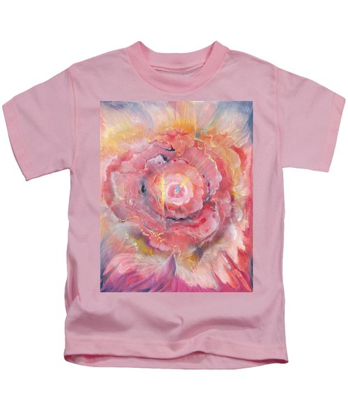 Broken Spirit Rose Kids T-Shirt