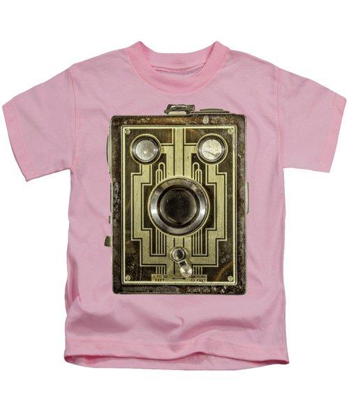 Brownie Six-20 Front Kids T-Shirt