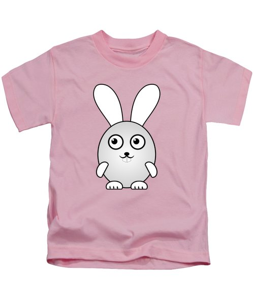 Bunny - Animals - Art For Kids Kids T-Shirt by Anastasiya Malakhova