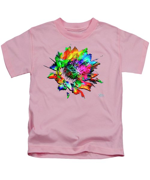 Burst Of Color Kids T-Shirt