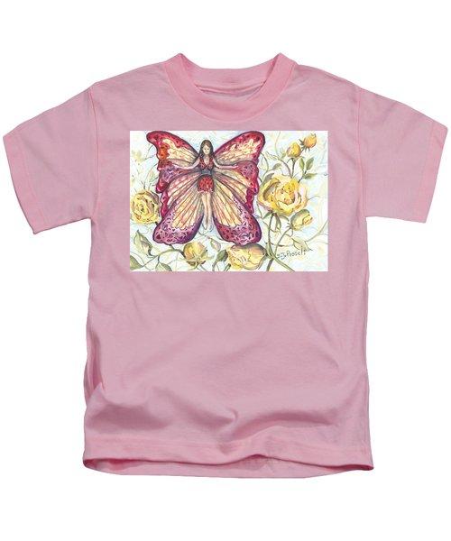 Butterfly Grace Fairy Kids T-Shirt