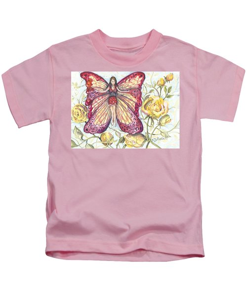 Butterfly Grace Fairy Kids T-Shirt