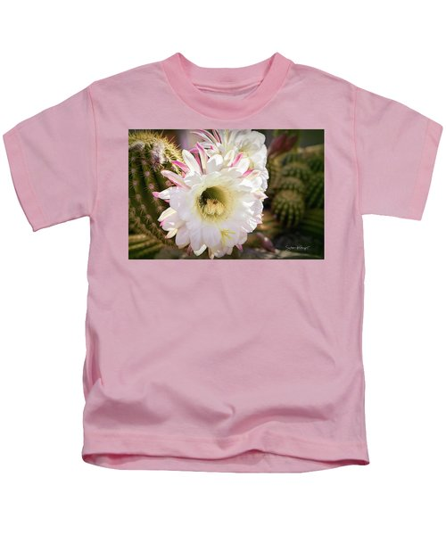 Cactus Bloom 2 Kids T-Shirt
