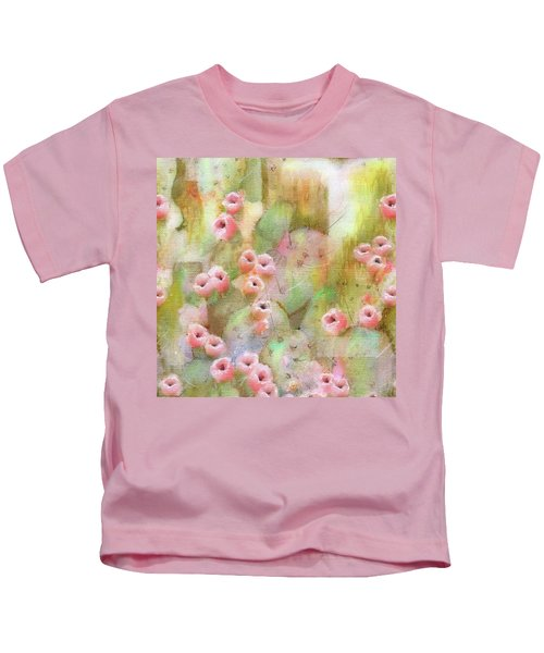 Cactus Rose Kids T-Shirt
