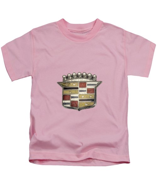 Cadillac Badge Kids T-Shirt