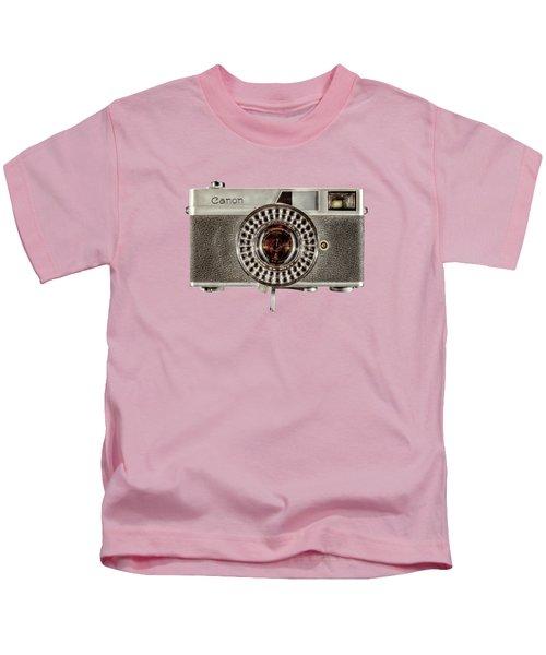 Canonete Film Camera Kids T-Shirt