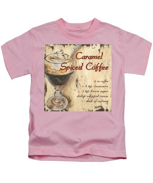 Caramel Spiced Coffee Kids T-Shirt