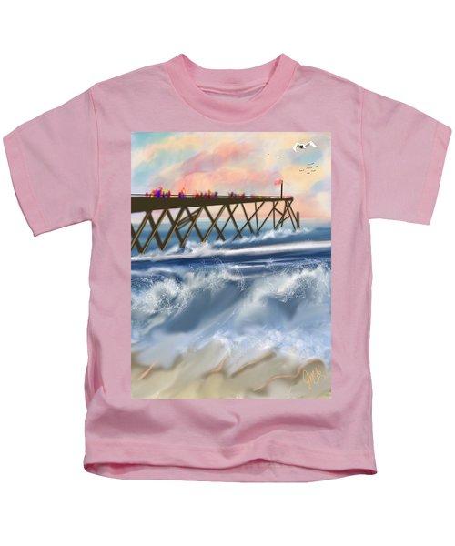 Carolina Beach Kids T-Shirt