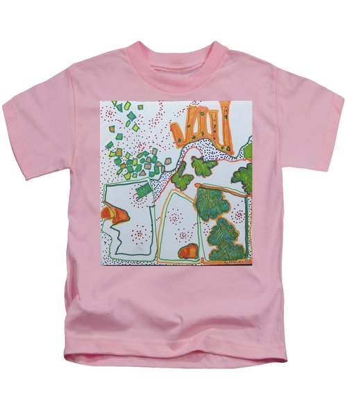 Castle On The Hill Kids T-Shirt