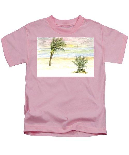 Cayman Beach Kids T-Shirt
