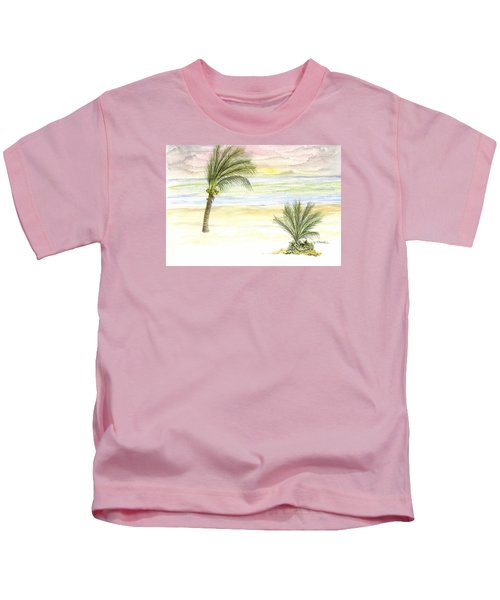Cayman Beach Kids T-Shirt