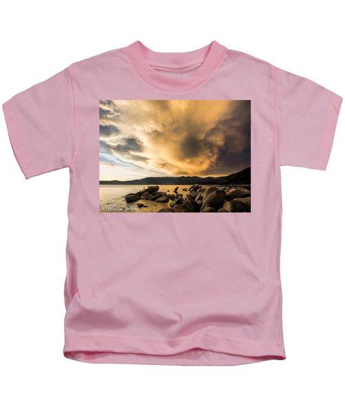 Celebrating Sunset Kids T-Shirt