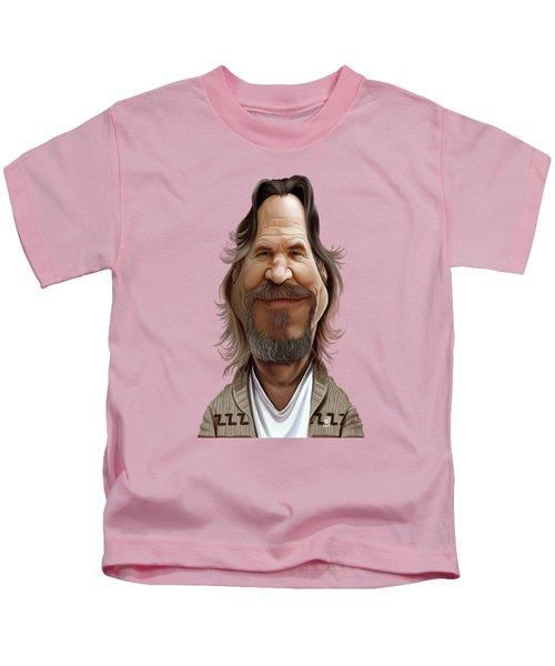 Celebrity Sunday - Jeff Bridges Kids T-Shirt