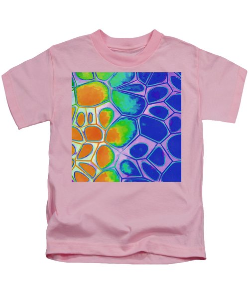 Cell Abstract 2 Kids T-Shirt