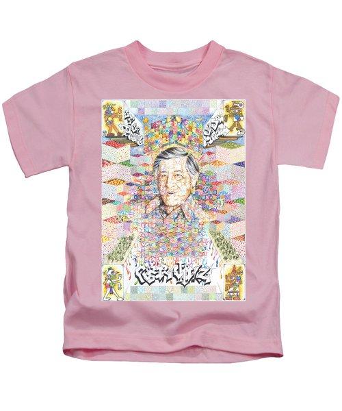 Cesar Chavez- Sombra De Arreguin Kids T-Shirt