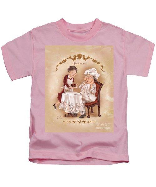 Chefs On A Break-sweet Treat Kids T-Shirt