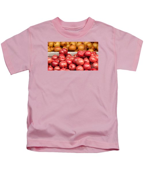 Chinese Plums And Pears Pickled In Sugar Kids T-Shirt