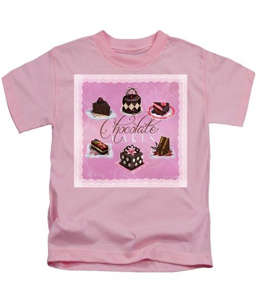 Chocolate Cakes Kids T-Shirt
